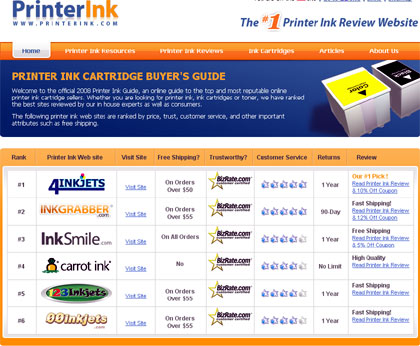 printer ink, tintas, cartuchos y toners