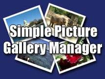 simple picture gallery manager, cms gratis
