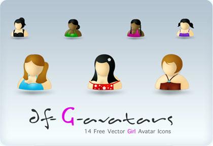 avatares de chicas gratis