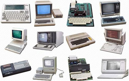 oldfashion computers, ordenadores viejos y antiguos