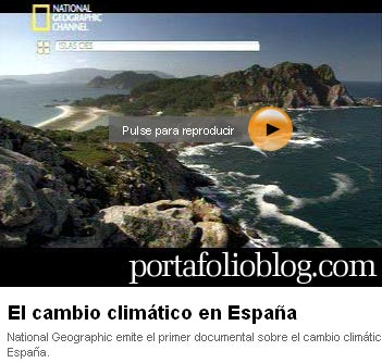 cambio climatico espana, documental de National Geographic