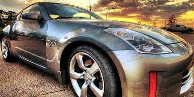 coche reflejo en alta definicion, hdr imagenes