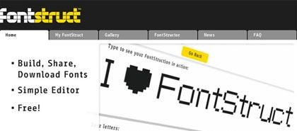 fontstruct, construye tipografias online gratis