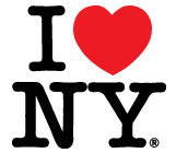 i love new york, logotipo con corazon