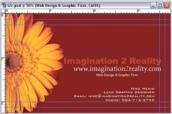 imaginacion y diseno al crear tarjetas de visita