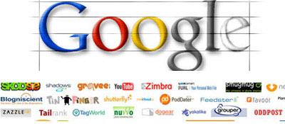 logo google, diseno y estructura adecuada