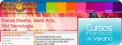nueva escuela, diseno y arte en argentina