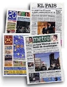 periodicos impresos y diarios que se venden en quioscos