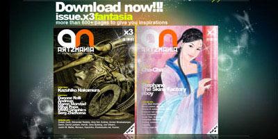 revista digital de arte y diseño grafico, ademas fotografia