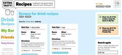 tragos online, recetas para preparar bebidas