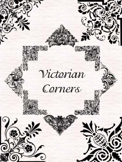 victorian corners o esquinas victorianas para photoshop