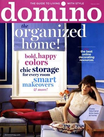 zooey deschanel portada de domino magazine