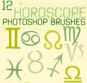 brushes horoscopos y signos zodiacales