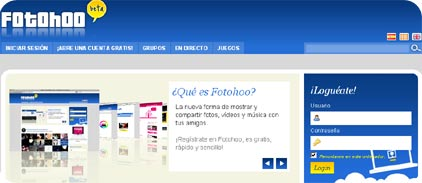 fotohoo, nuevo sitio web estilo fotolog pero mejorado