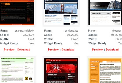 150 wordpress free themes