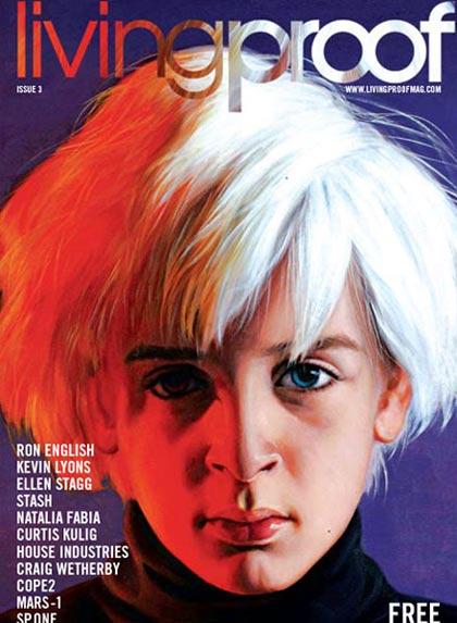 livingproof, revista de arte y diseño gráfico