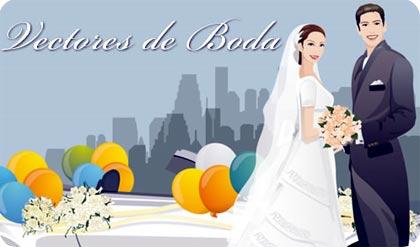 vectores de bodas gratis para diseño de tarjetas