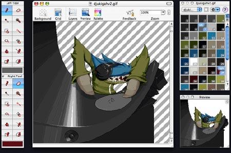 recopilación de programas de diseño para Mac