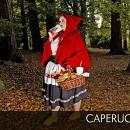 El final tragico de Caperucita Roja  donde padece de obesidad