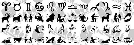 descarga gratis estos signos del zodiaco vectorizados