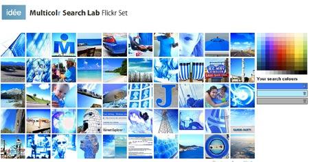 Multicolr buscador de imagenes por colores