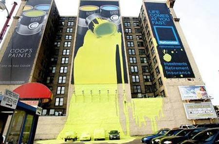 divertida publicidad de Paints ad