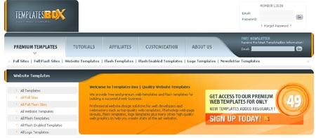 Plantillas HTML y CSS para descargar gratis