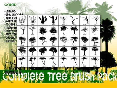 coleccion de 600 brushesnaturales descarga gratis