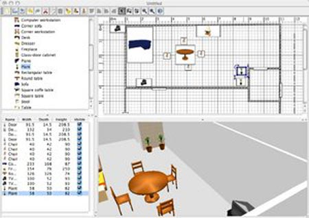Sweet home 3d software de dise o de interiores gratis for Programa para disenar muebles gratis