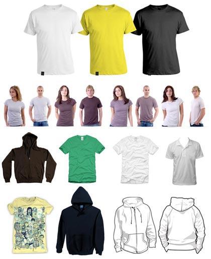 galeria de camisetas vectorisadas de alta calidad