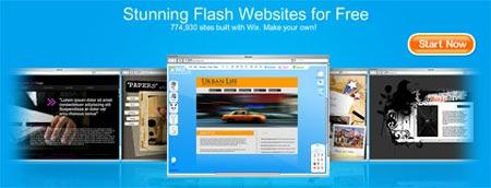 Esta aplicacion online te permite programar en flash para tus sitios web