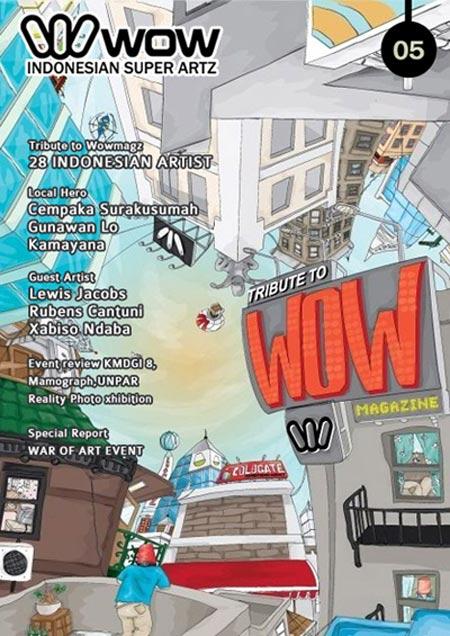 wow magazine, revista de arte y diseño