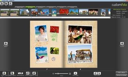 Ahora puedes acomodar tus fotos en creativos álbumes fotográficos