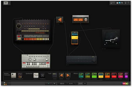 Hobnox Audio Tool herramienta online para crear música