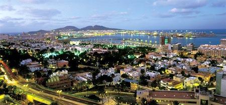 Las Palmas de Gran Canaria de noche, una ciudad especial