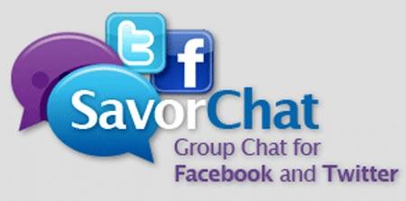 Esta nueva aplicacion te permite chatear tanto en twitter como en facebook