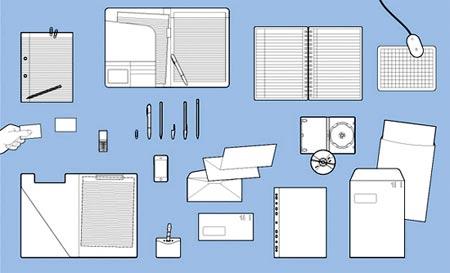 íštiles objetos vectoriales para tus diseños
