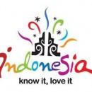 Colorido logo de indonesia, muy llamativo