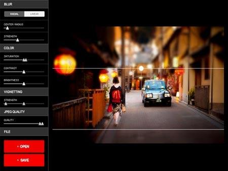 Edita tus fotos con efectos de enfoque y desenfoque con este programa