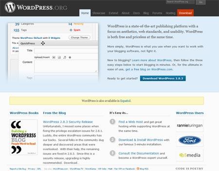 Wordpress te ayuda a subir tus archivos de texto a la red