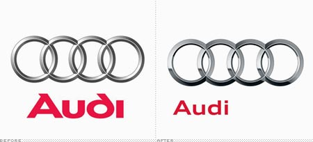 Logos de Audi