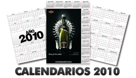 Calendarios del 2010