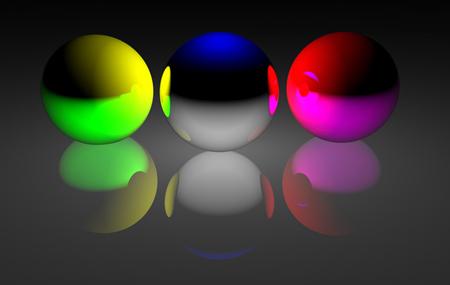 Imagen de los colores primarios
