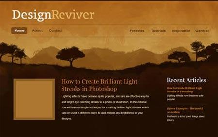 Tutorial sobre como crear diseños de la naturaleza