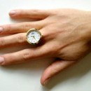Un anillo que también es reloj