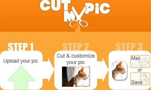 cut my pic, recorta y redimensiona imagenes online
