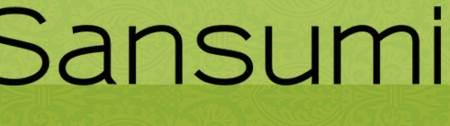 Sansumi bold font