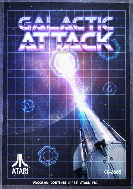 Poster de Galactic Attack