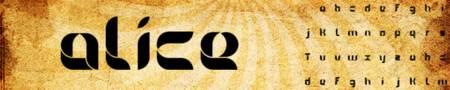 tipografia alice