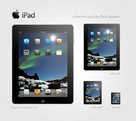 iPad vectorizado